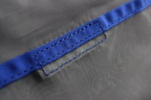 Velcro closure.