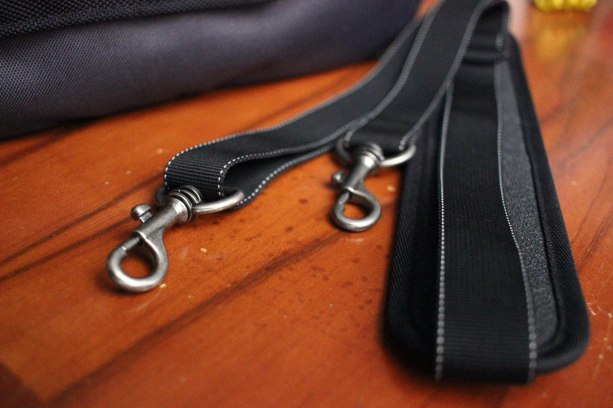The strap buckles are super high quality.