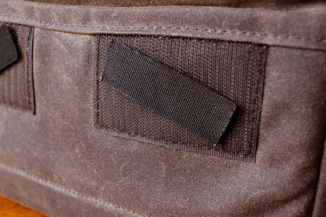 Velcro patch to reduce its strength.