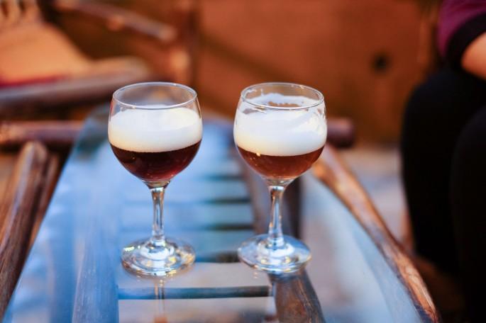 Antes de pedir un chopp, puedes probar las cervezas disponibles y escoger la que prefieras.