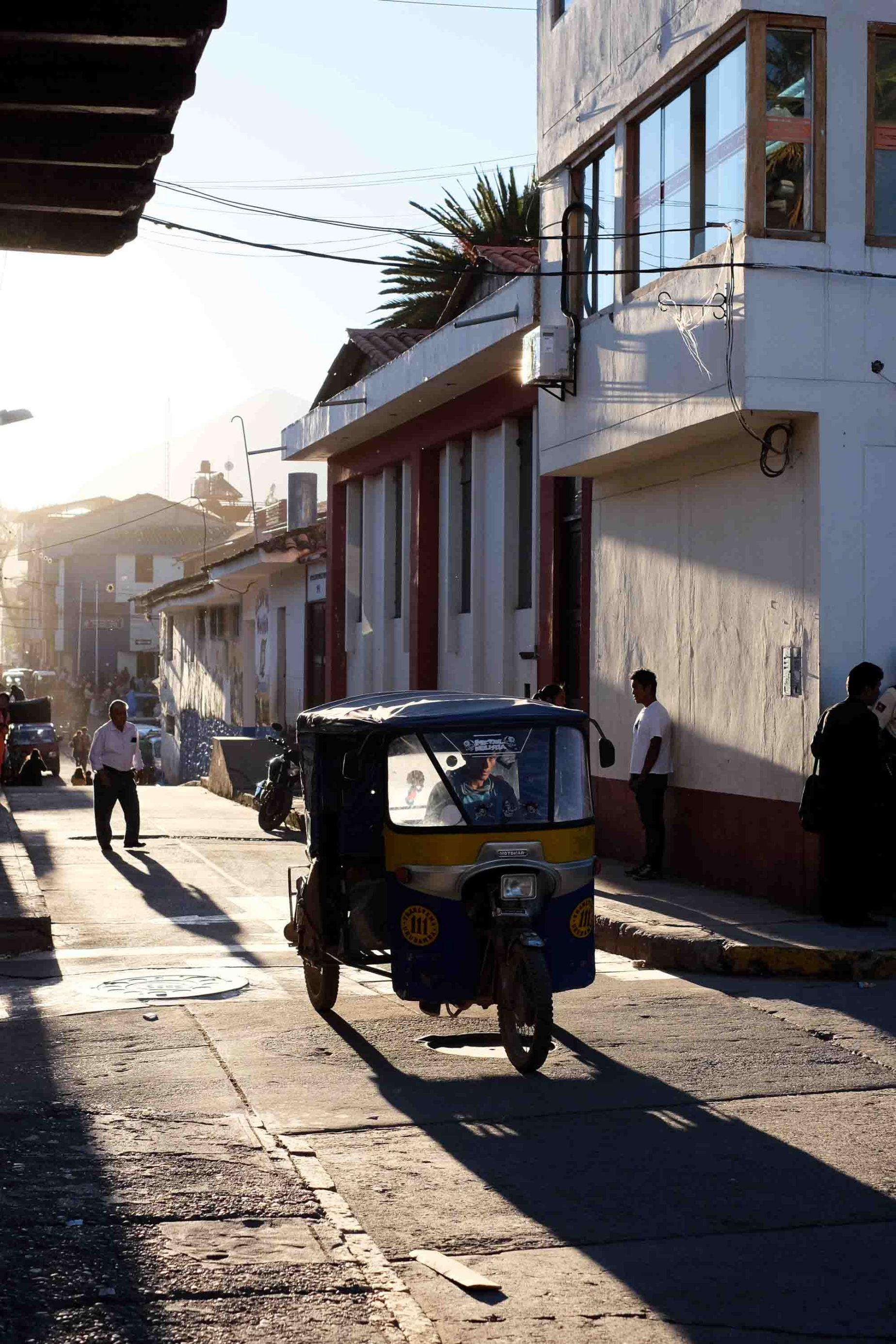 Motocarro/Motocar/Mototaxi (whatever you prefer) in Urubamba, Cusco.