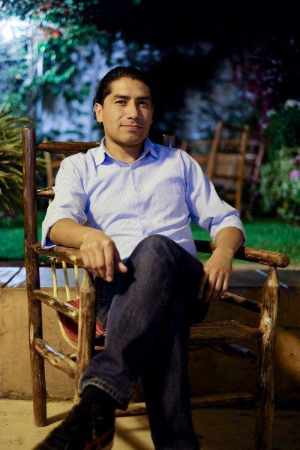 Darío, Willkamayu Brewery creator and host. Urubamba, Cusco.